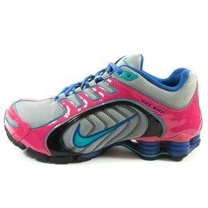 Nike Shox Navina Running Shoes - Women's Size 7.5 - Gray Pink